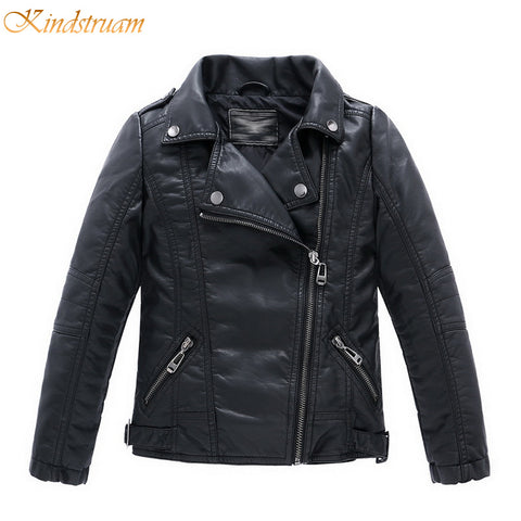 Boy's Faux Leather Jackets