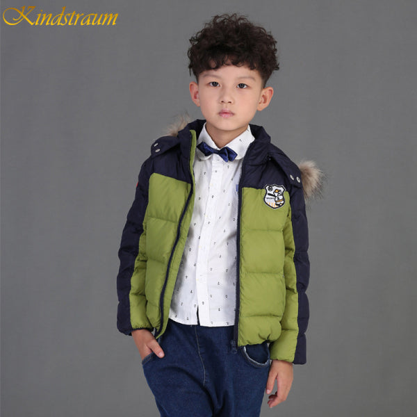 Boy's Winter Down Coat