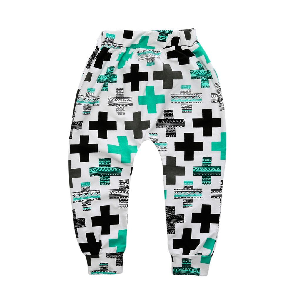 Cute Printed Toddler's Knitted Pants