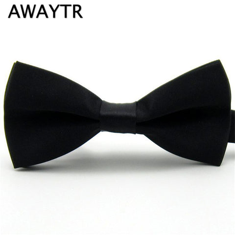 Kid's Solid Bow Tie