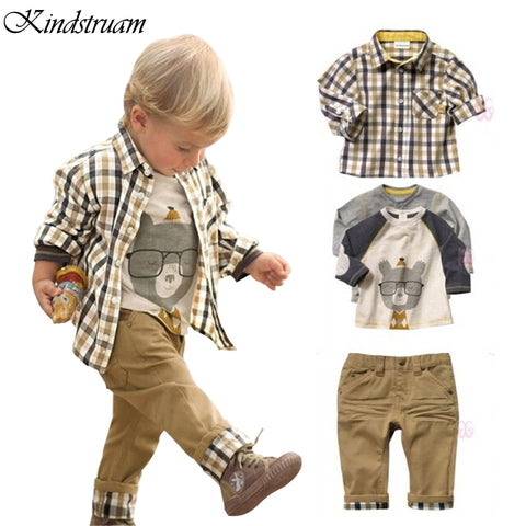 Boy's 3pcs Clothing Set Pant Outfit,