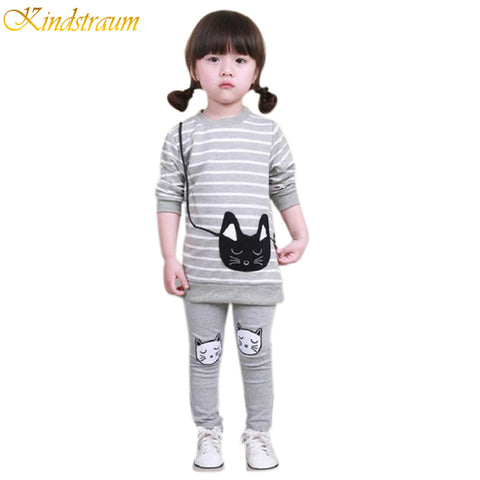 Girl's Striped Clothing Sets