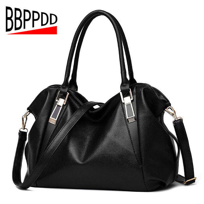 f127696eeb ShunvBasha Women Leather Handbag Retro Vintage Bag Designer Handbags High  Quality Famous Brand Tote Shoulder Ladies