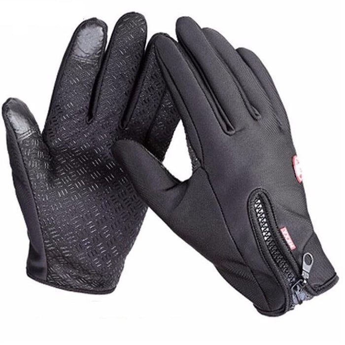 ddf6224db Wind Stopper Gloves Anti Slip Windproof Thermal Warm Touchscreen Glove  Breathable