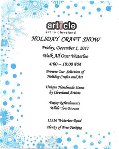 Article Holiday Craft Show - Dec 1st