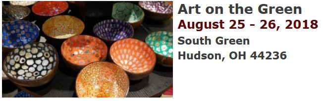 Hudson - Art on the Green August 25-26 2018