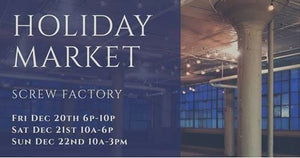 Holiday Market at the Screw Factory in Lakewood, Ohio