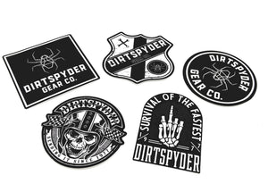 DIRTSPYDER STICKER PACK