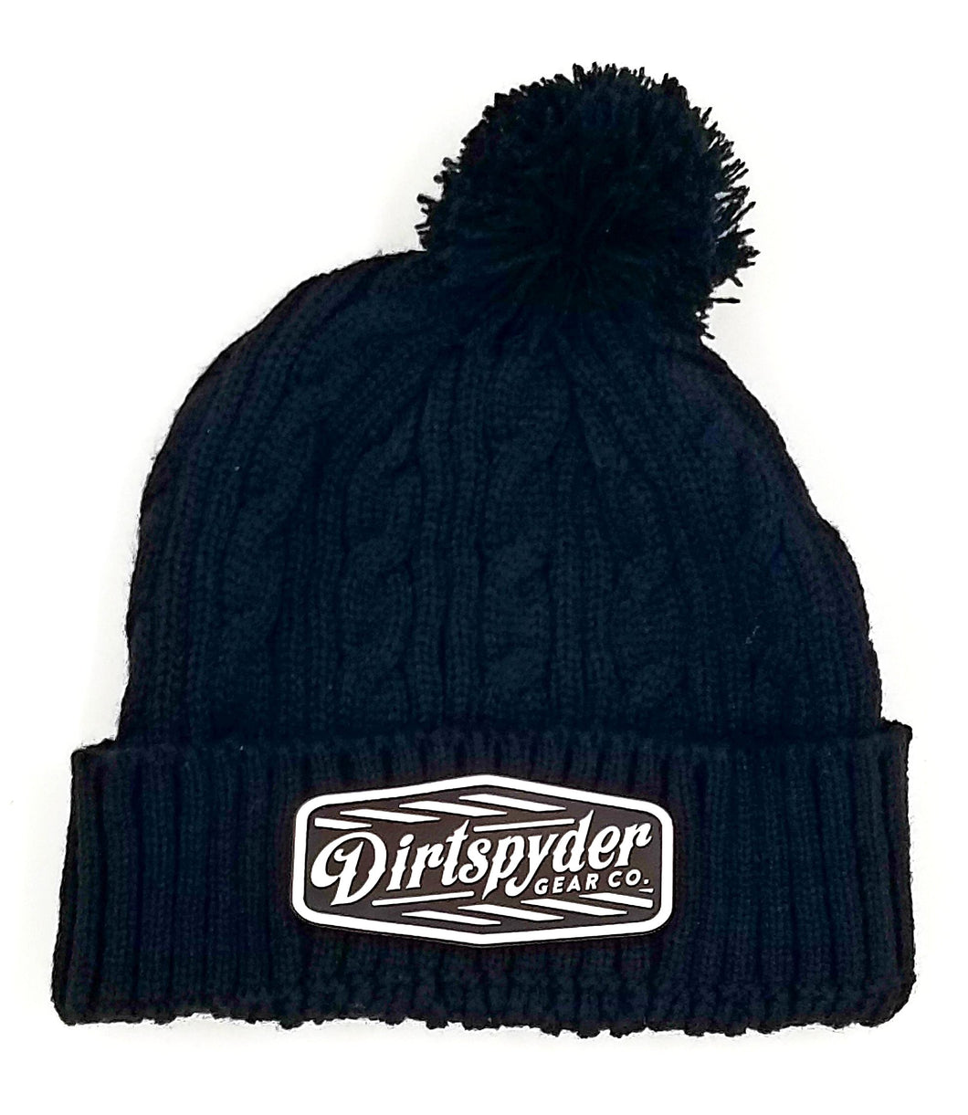 DIRTSPYDER CUSTOM RUBBER PATCH BEANIE