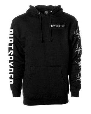 DIRTSPYDER LIMITED EDITION WOVEN PATCH PULLOVER HOODIE