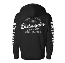 DIRTSPYDER REVEL IN THE DIRT FULL ZIP HOODIE (UNISEX)
