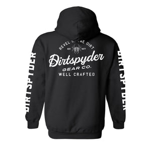 DIRTSPYDER REVEL IN THE DIRT PULLOVER HOODIE (UNISEX)