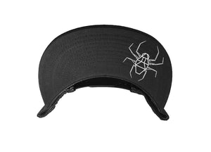 DIRTSPYDER BLACK/BLACK REVEL TRUCKER SNAPBACK