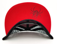 DIRTSPYDER SENDING IT RED/BLACK TRUCKER SNAPBACK