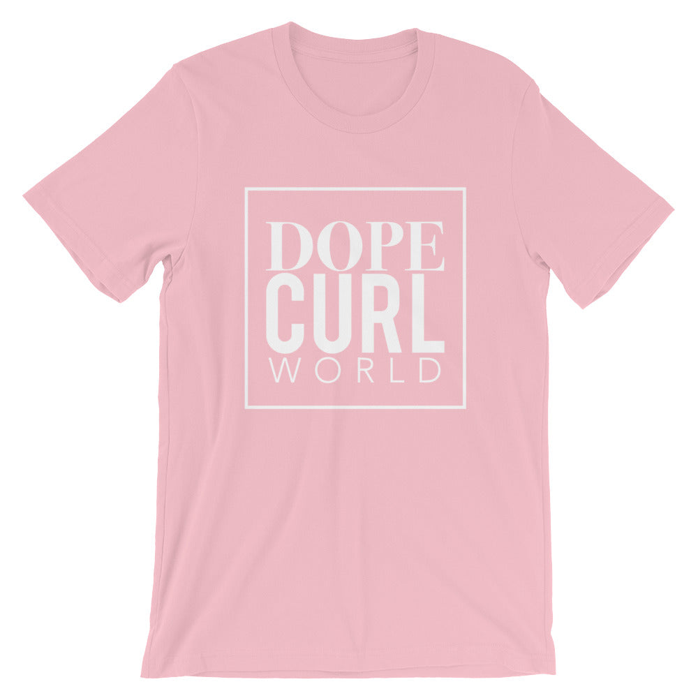 Dope Curl World Short Sleeve. Gold