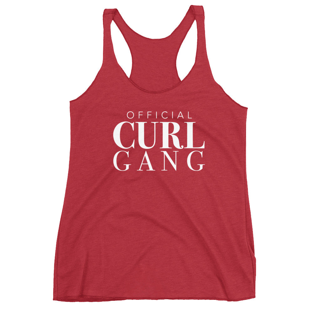 Official Curl Gang Racerback
