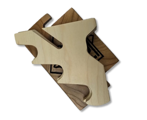 PUMA Knife Stand for 3 Knives, Wood