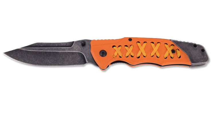 PUMA TEC one-hand knife, orange G10