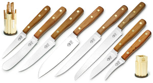 PUMA Kitchen Knife Block Set  (Includes all 8 Kitchen Knives)