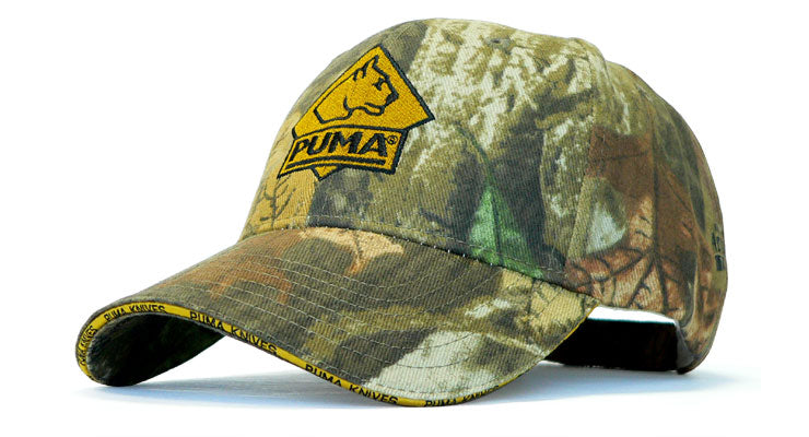 PUMA Hat  -  Camo with Velcro Closure