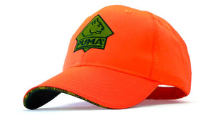 PUMA Hat  -  Hunter Orange with Velcro Closure