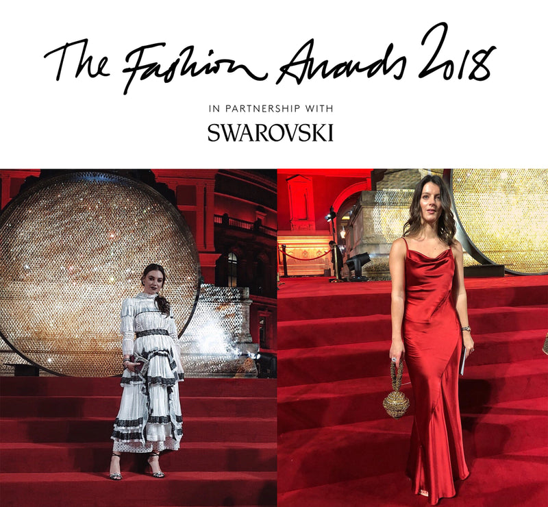 The British Fashion Awards 2018 |  Red Carpet Fashion with Polly Goldstone & Andreea Cristina
