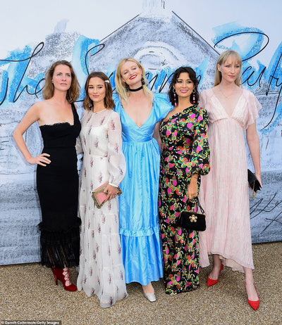 The Serpentine Summer Party 2019: The London Chatter Wears Mae Cassidy