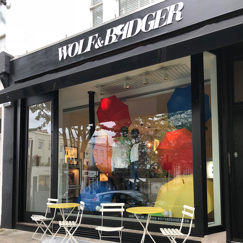 Mae Cassidy Now Stocked in the Wolf & Badger Notting Hill Store!