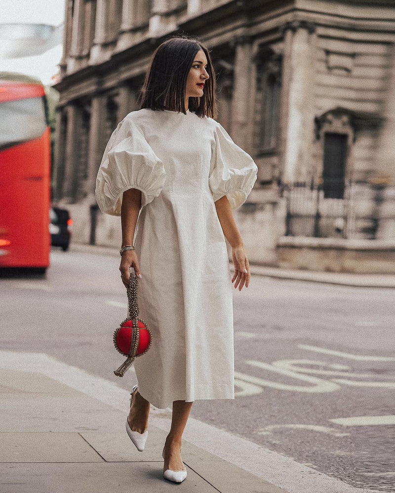 London Fashion Week Street Style | Anisa Sojka spotted wearing the Fiery Red Babi Bracelet