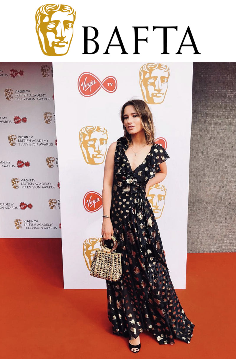 BAFTA TV Awards 2018 | The London Chatter wears Mae Cassidy