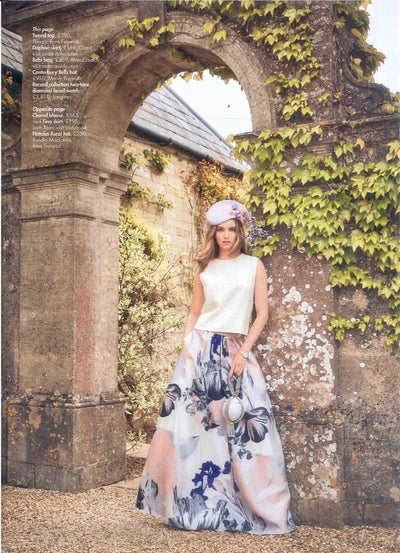 What To Wear to The Royal Ascot Ladies Day Ascot 2019: Hello Magazine Feature Mae Cassidy