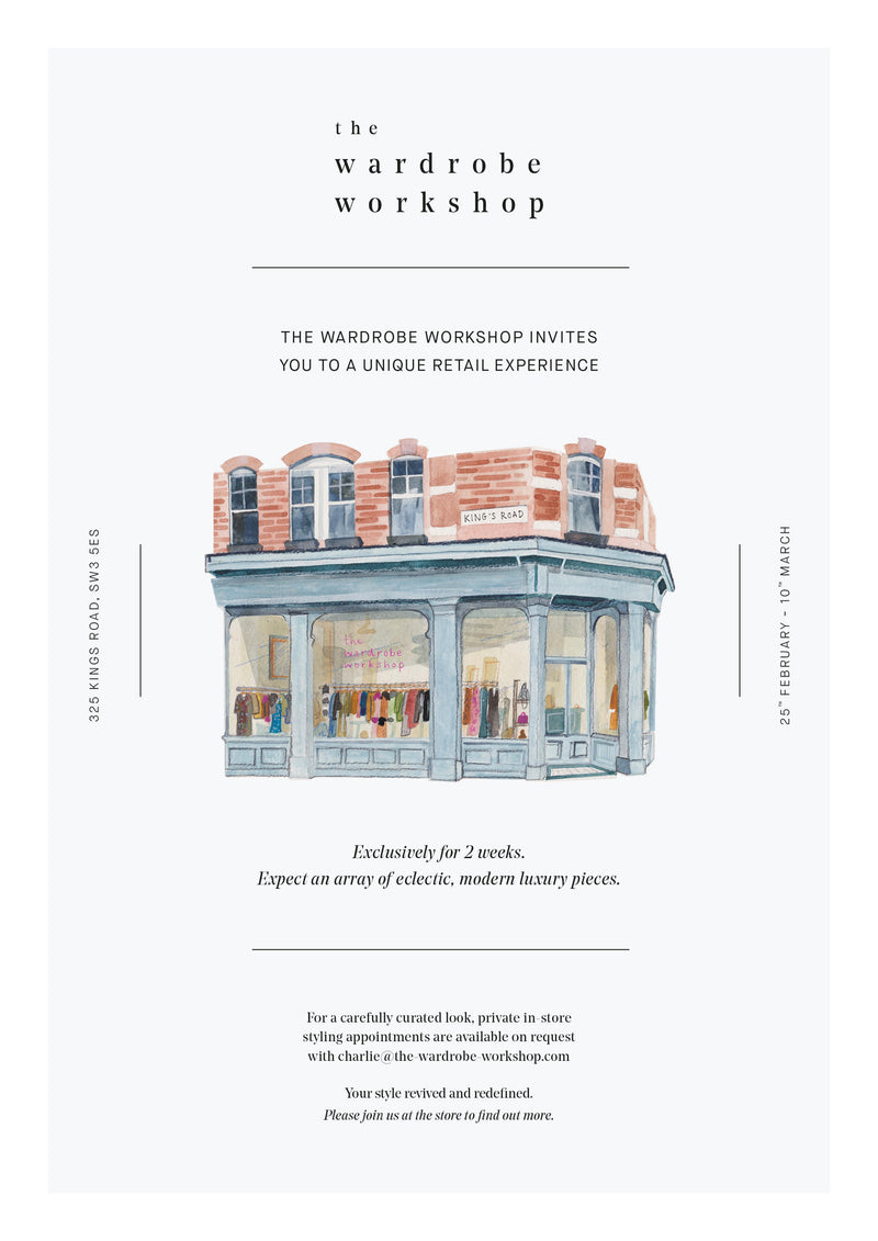 YOU'RE INVITED! | Mae Cassidy Pop's up at The Wardrobe Workshop.