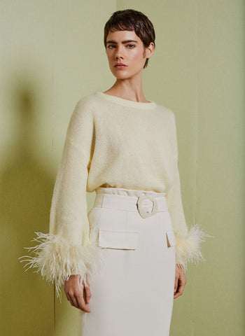 The Times Mae Cassidy Butterscotch Babi Bracelet Ultimate Christmas gift guide: what fashion editors want now Fashion Editor Rachael Dove Natalie Hammond peak-quin party season party edit glitzy gifts for her sequin alternative we've certainly got our eye on this feathered lemon Uterqüe jumper! The Times full article Butterscotch Gold Babi Bracelet clutch bag