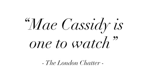 The London Chatter Kelly Eastwood Kelly's style chatter hello fashion Mae Cassidy One to Watch Rekha Reflect Handbag