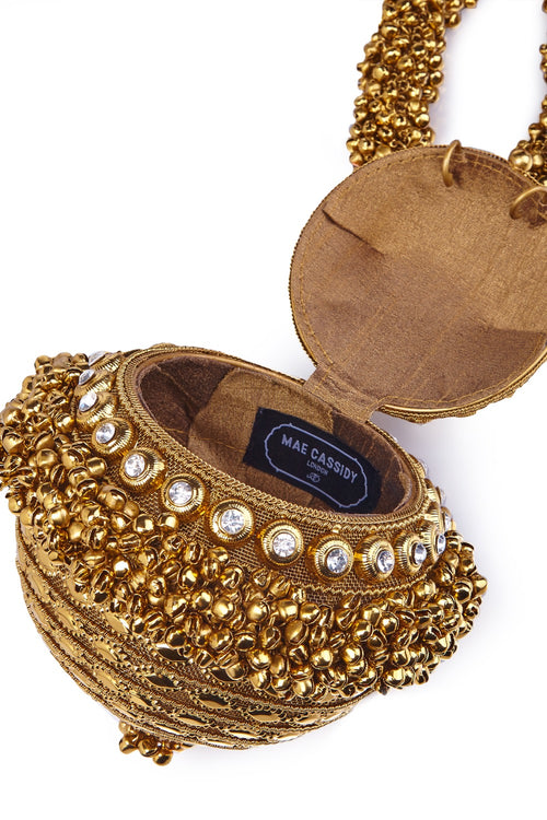 Mae Cassidy Simi Sparkle Gold Bracelet Clutch Bag Net-A-Porter Andrea Bocchieri Roni Ahn Laura Little Jinny Kim Daisy Toogood, As Seen In Style