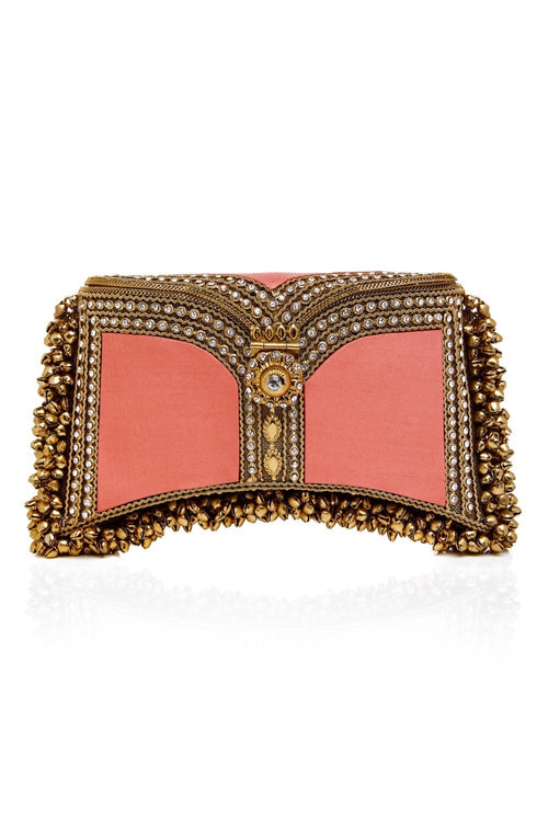 Zeenat Clutch+ | Coral Dreams