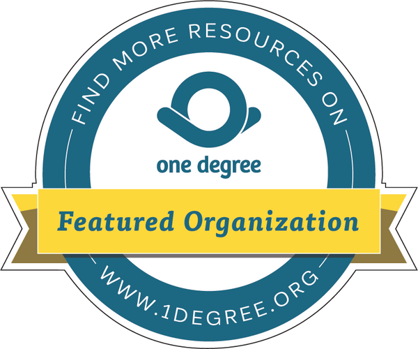 Sticker - Featured Organization on One Degree (3 stickers)