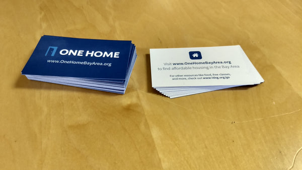 Business Card - One Home (50 cards)