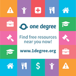 Sticker - One Degree (5 stickers)