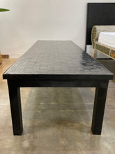 Load image into Gallery viewer, Long Rectangular Zellige Tile Mosaic Coffee Table, BLACK OR WHITE