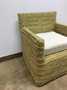 ARKA Living African palm woven chair