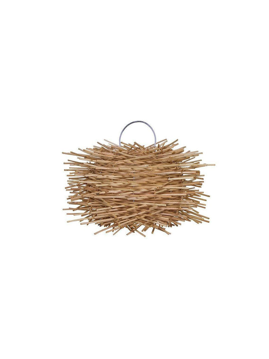 Small Rattan Pendant Light | Simple and Natural Lamp