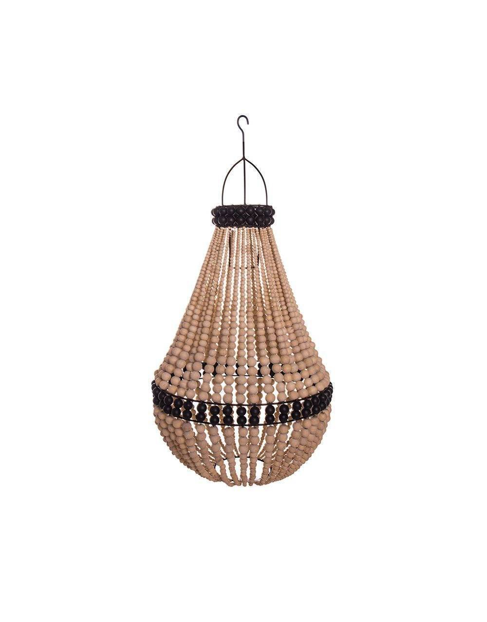 ARKA Living Empire chandelier natural with black