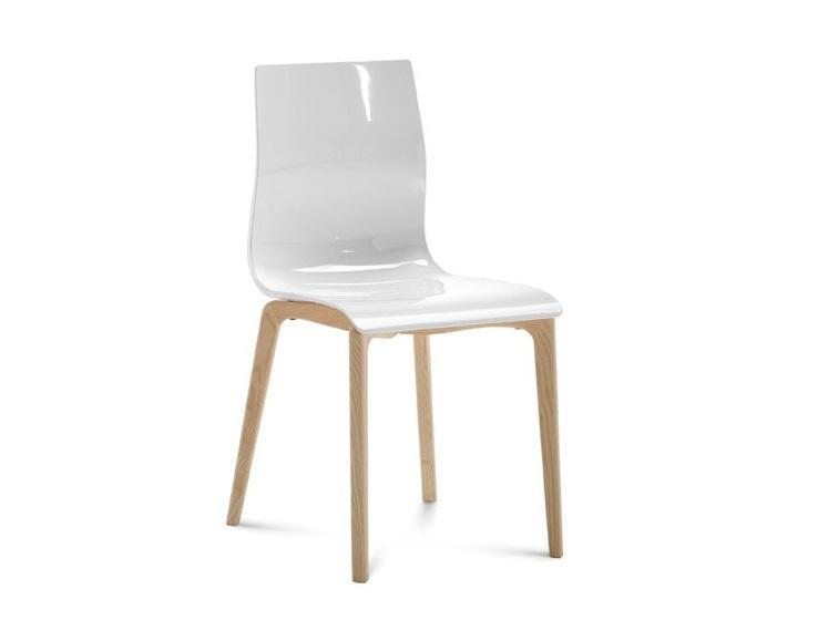 ARKA Living Gel-L Plastic mold chair Set of 4