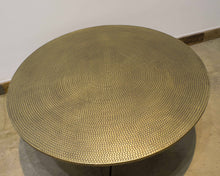 Load image into Gallery viewer, ARKA Living Handcrafted bronze round coffee table