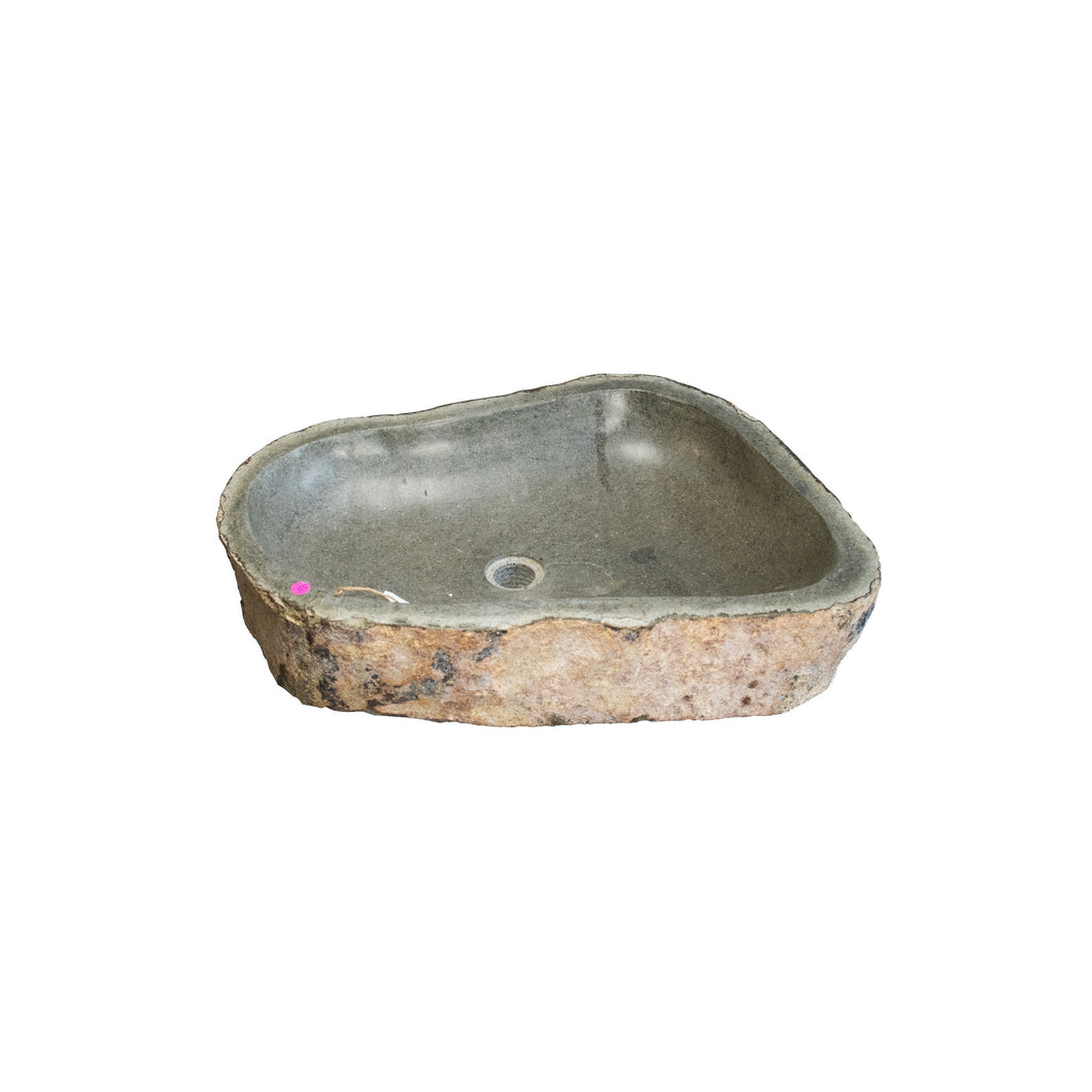 ARKA Living Large Natural river stone sink
