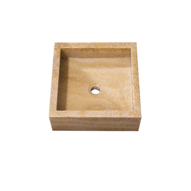ARKA Living Opaque Onyx Stone natural square sink