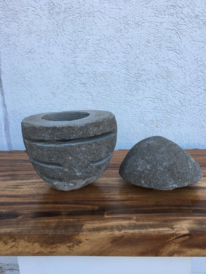 ARKA Living River stone Lantern , modern primitive lighting #6