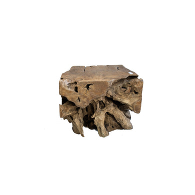 ARKA Living Solid reclaimed wood coffee table from teak root