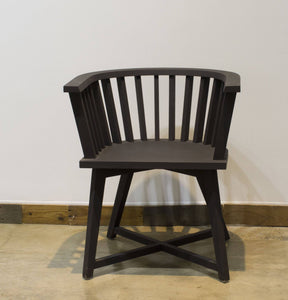 ARKA Living Solid wood black collection chair - handmade